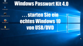 Windows Passwort aendern