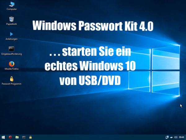 Windows Passwort aendern